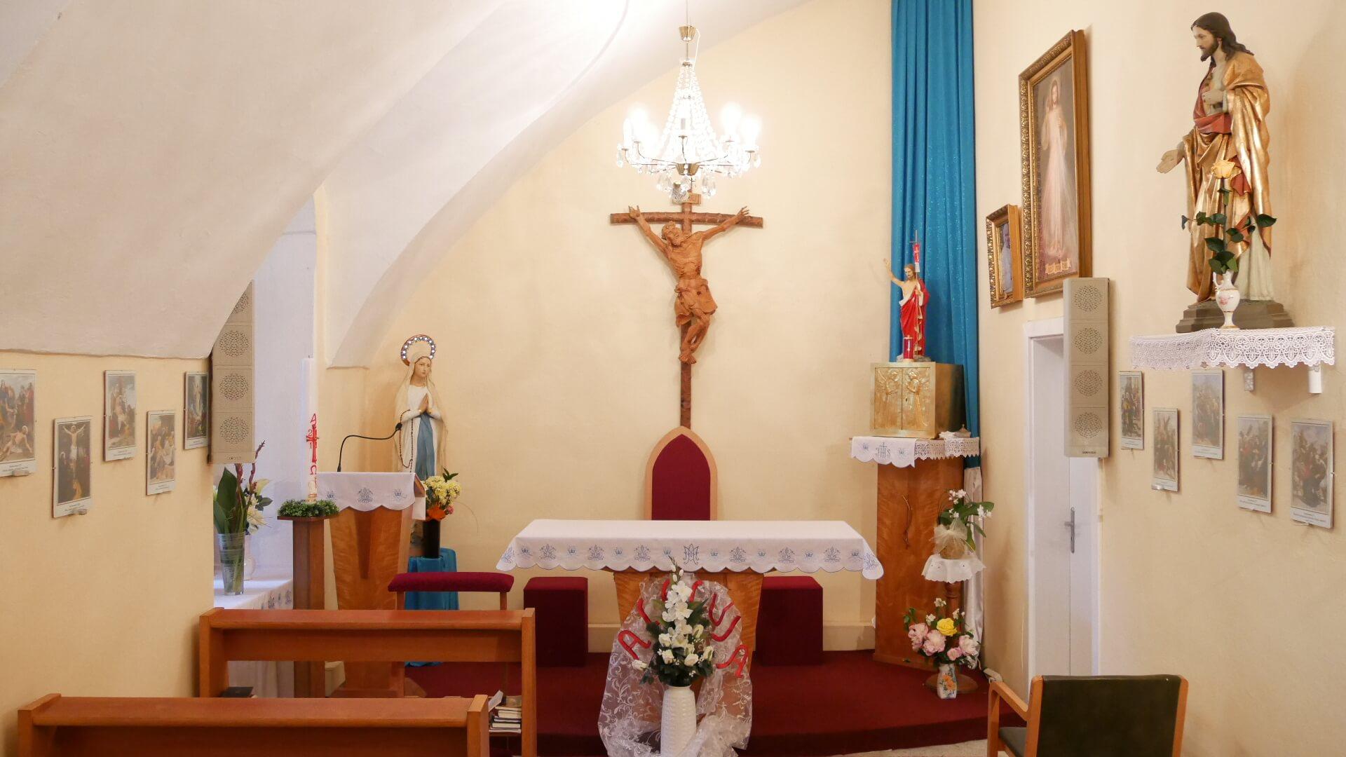 Charitná kaplnka Ružencovej Panny Márie